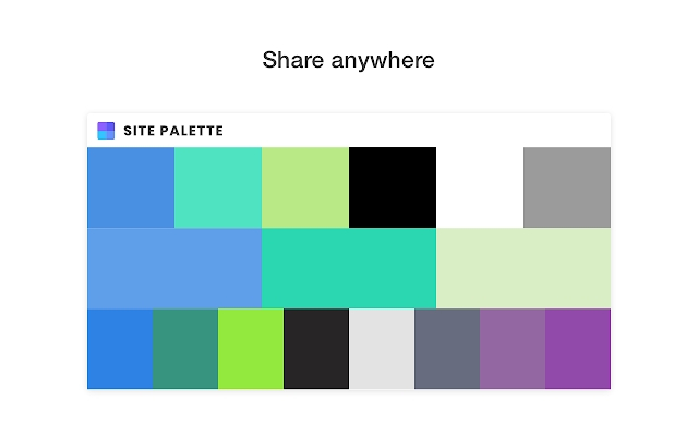 Site Palette chrome extension - codedthemes