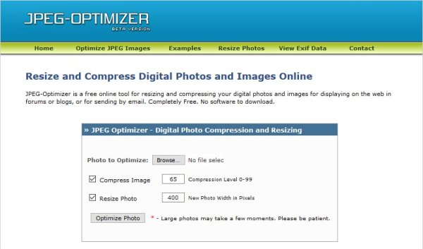 JPEG Optimizer - codedthemes
