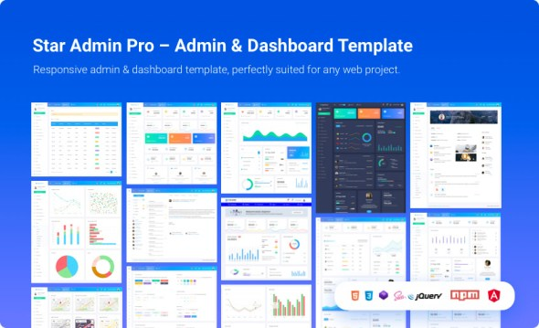 star admin Angular 7 admin templates