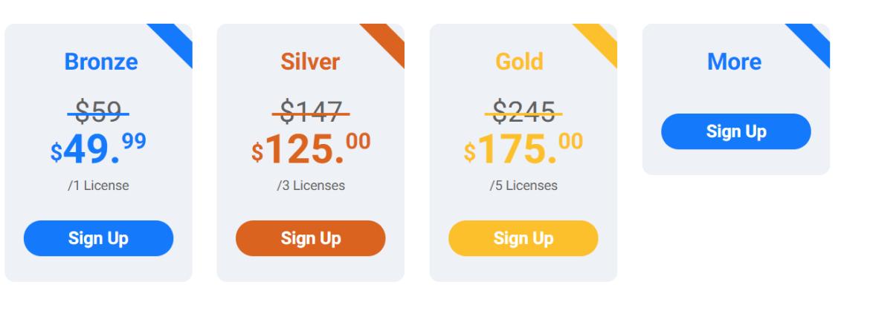 pricing wpfastest