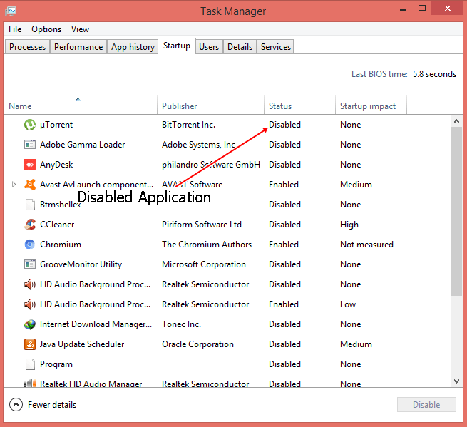 disable-startup-application