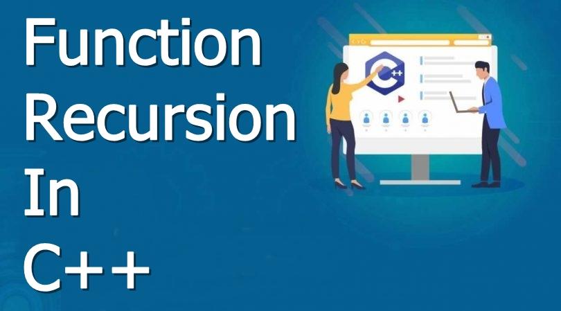 function recursion in c++