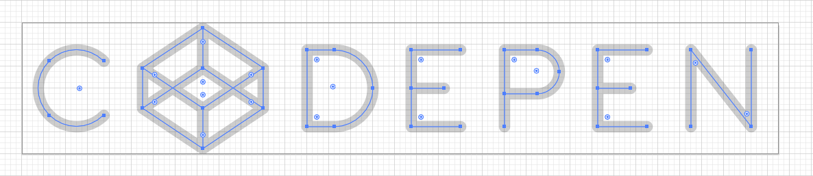 CodePen Logo Grid
