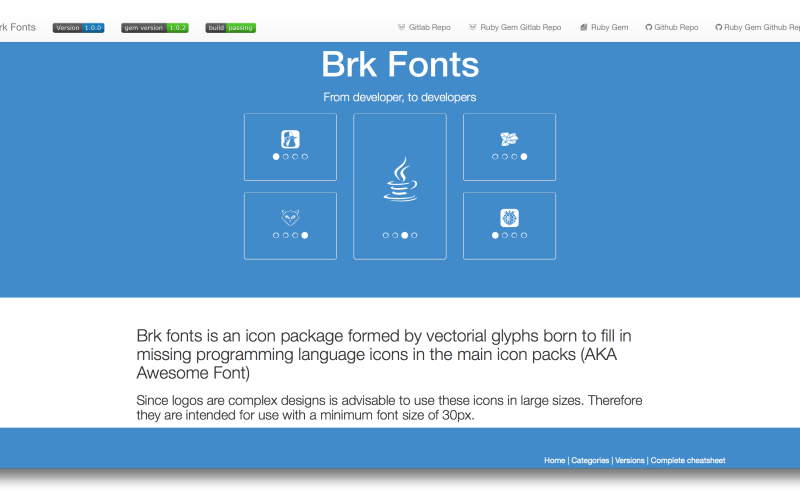Brk Fonts
