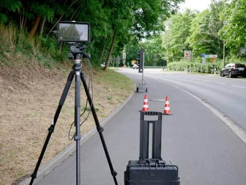 Infrastructure Deformation monitoring Roadblock to avoid damage