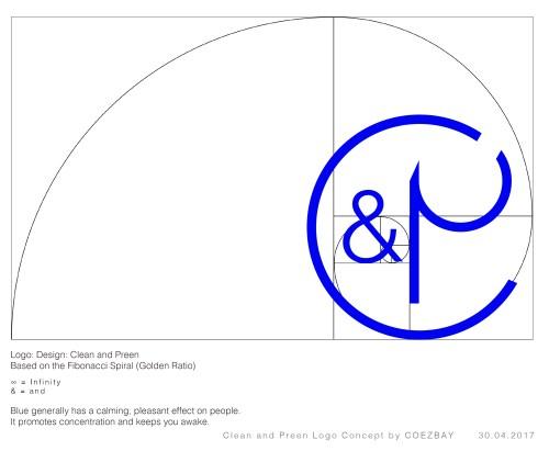 Design Concept Clean & Preen Logo