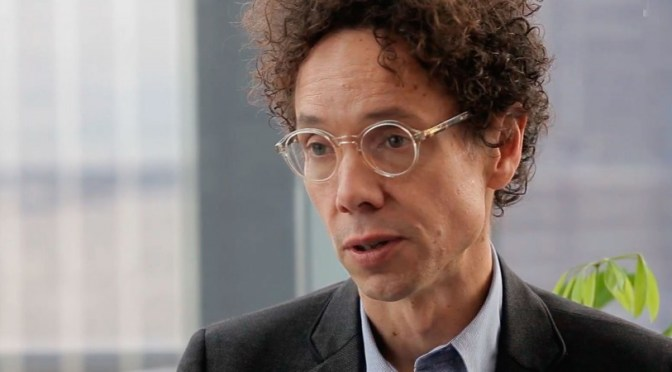 Malcolm Gladwell says failure IS an option.