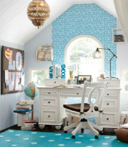 desk 5 262x300 How to Make a Kid Friendly Study Space