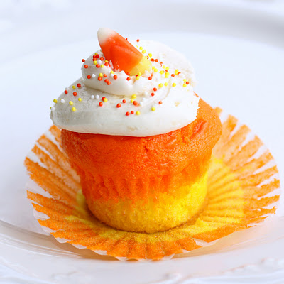 Candy Corn Muffin