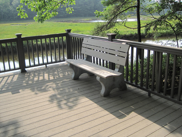 Bench - Flickr/US Fish and Wildlife Service