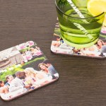 Custom photo coasters: perfect for anyone who owns a table