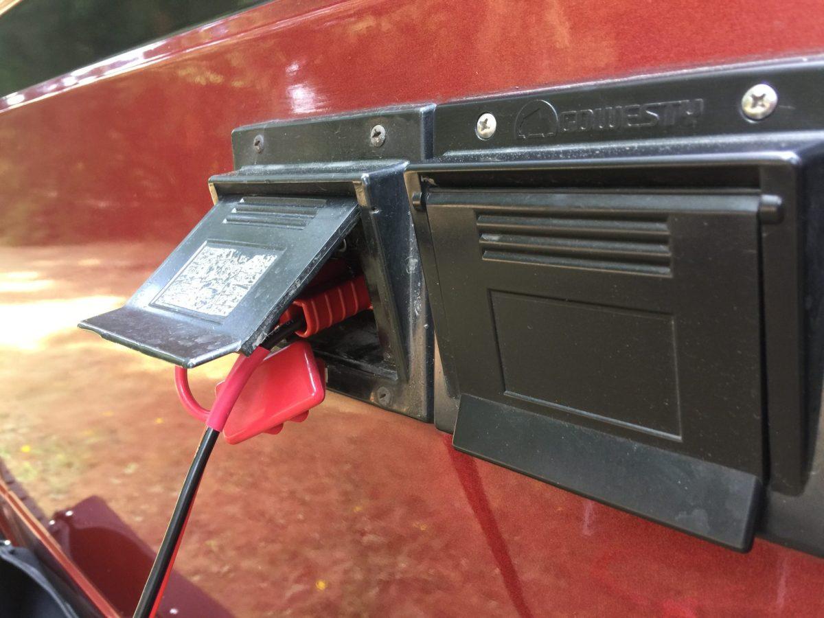 Solar panel connection
