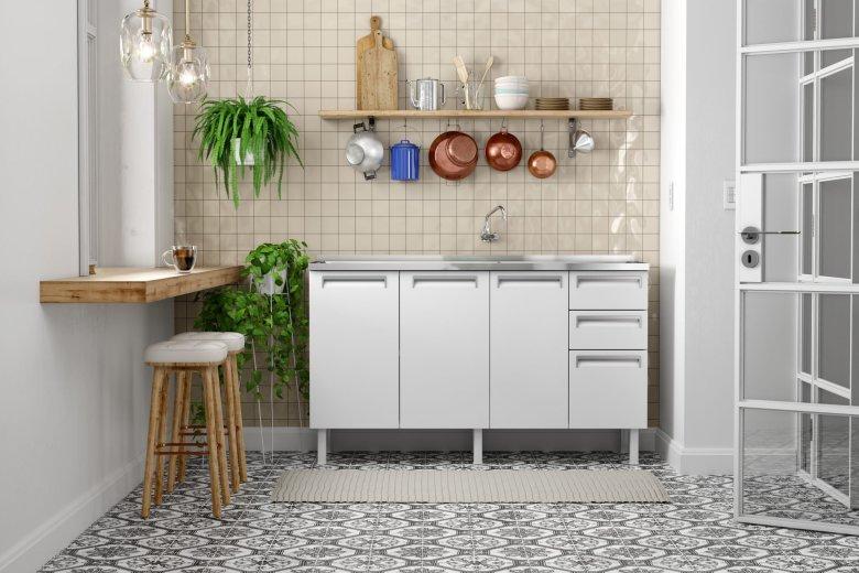 Ambiente da cozinha com baquetas para tornar as refeições mais práticas e rápidas