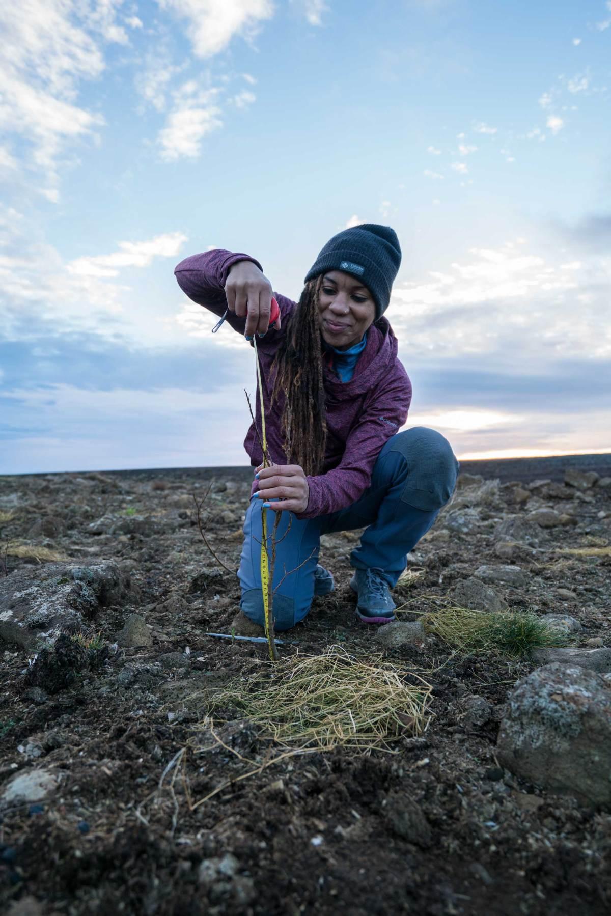 Faith Briggs Iceland Give Back