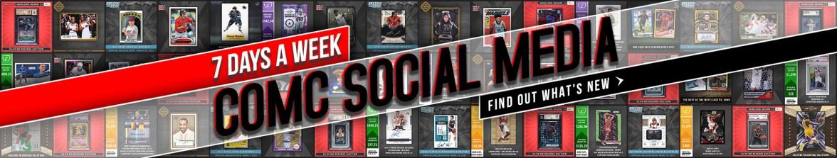 Check Out COMC Social Media