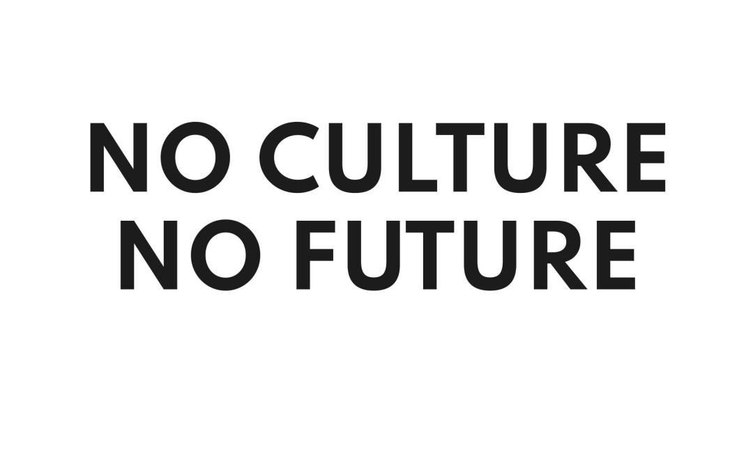 #noculturenofutureCH