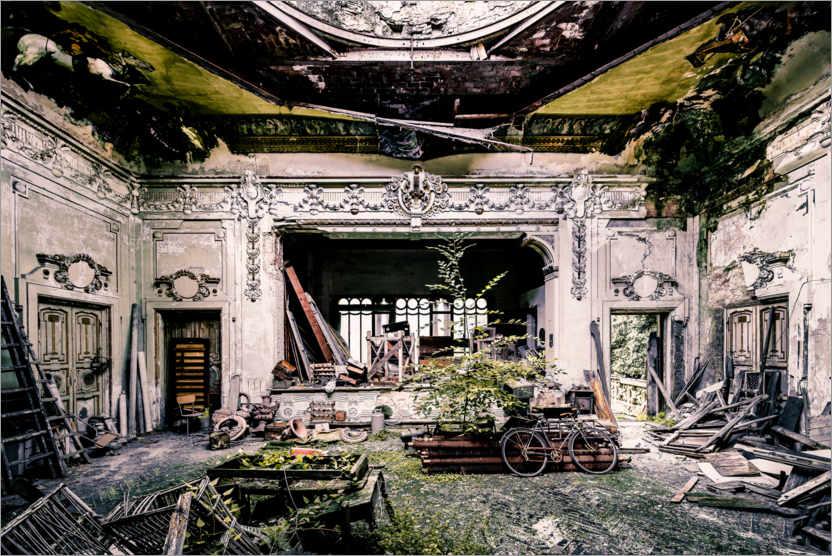Le théâtre, en vert et aussi contre lui-même