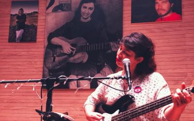 Alexandra Marcos, voix double