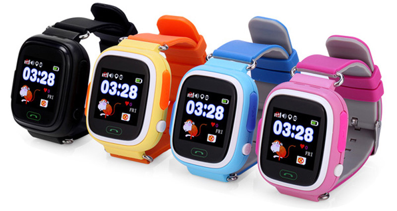 Smartwatch selection rules_TOP useful tips - children's smartwatches in different colors