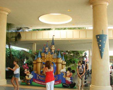 Disneyland Marina Hotel Skylight Repair