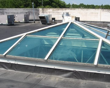 Premium Outlets Mall Skylight Replacement-04