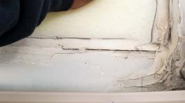 Damaged skylights