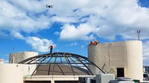 Lausanne skylight demolition 23835-25-10.17