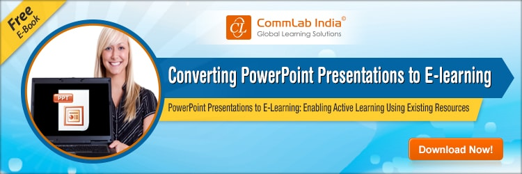 View E-book on Converting PowerPoint Presentations to E-learning