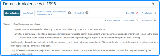 Excluded offences under the vetting legislation