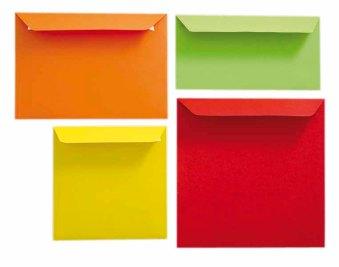 Découvrez toutes les couleurs des enveloppes du Comptoir de l'Emballage pour vos faires parts de mariages