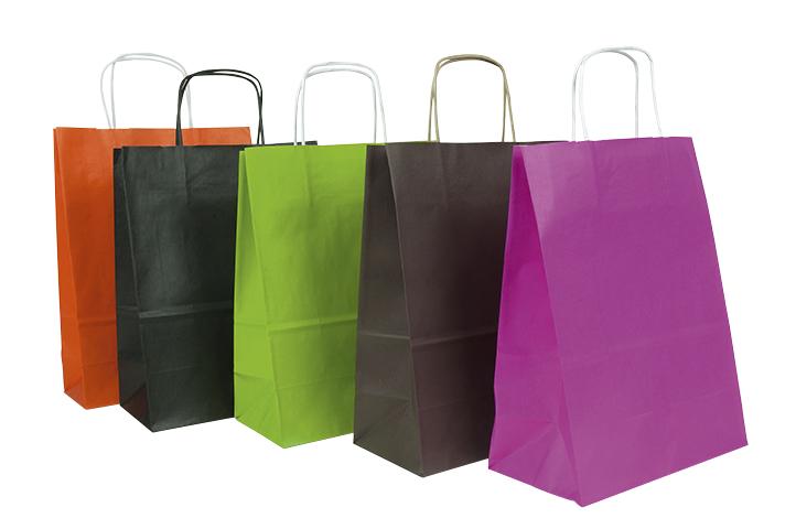 Die Kraftpapiertasche