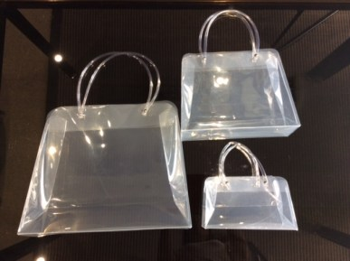 sac transparent en polypropylène