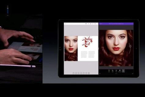 De minimale aanpassing aan de foto met Photoshop Fix (rechts): een piepklein glimlachje.