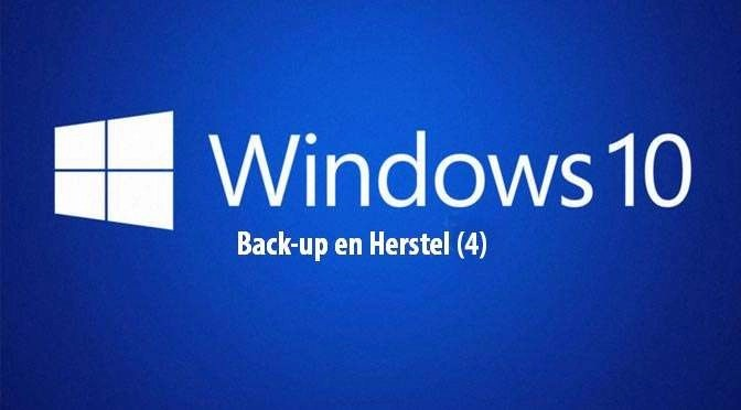 Windows 10: Back-up en herstel (4)