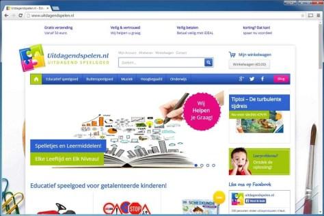 Uitdagendspelen.nl. Op deze site kunnen ouders educatief speelgoed kopen voor hoogbegaafde kinderen. Gebruikt Jetpack by WordPress.com om extra handigheidjes toe te voegen aan de site.
