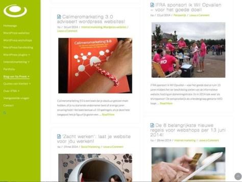 Voeg een passende afbeelding toe aan uw blogpost, zodat deze meer opvalt en herkenbaar wordt.