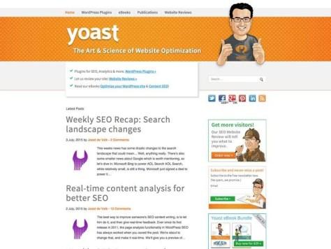 Joost de Valk en zijn medewerkers binnen Yoast bloggen wekelijks over het vakgebied waar ze op internationaal niveau heer en meester over willen zijn: SEO.