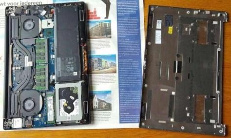 Met een Torx-schroevendraaier heb je de Dell XPS-15 zo open.