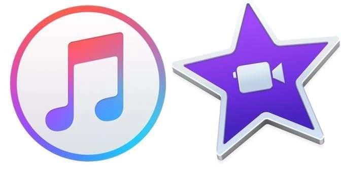 Aan het werk met iTunes en iMovie