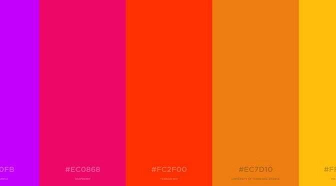Passende kleuren voor uw site of document