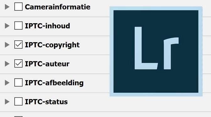 Copyrightinformatie toevoegen aan je foto's tijdens het importeren in Lightroom