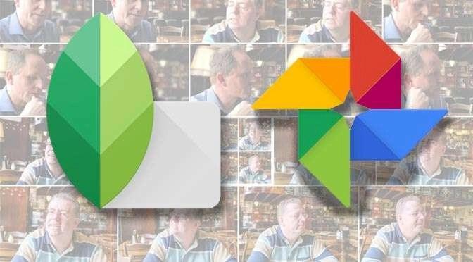 Updates voor Google Foto's en Snapseed
