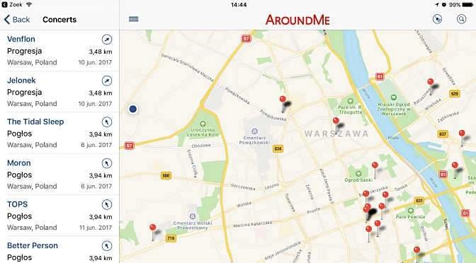 AroundMe: wat is er in de buurt?