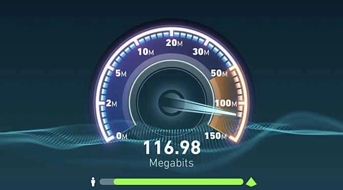 Meet je internetsnelheid via Ookla