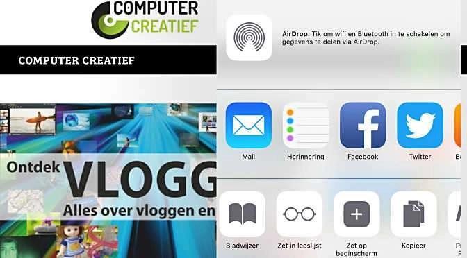 iOS: Makkelijke koppeling naar webpagina