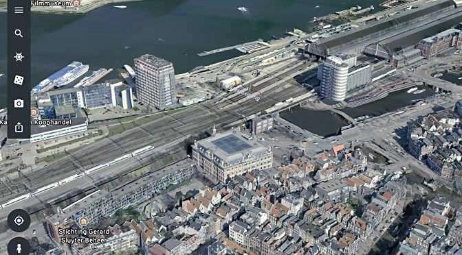 De nieuwe Google Earth app voor iOS