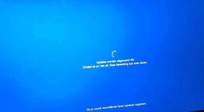 Windows 10 herfst-update rolt uit