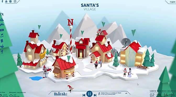 NORAD weet precies waar de kerstman uithangt