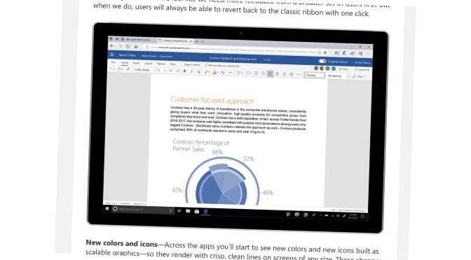 Het Lint gaat verdwijnen in Office, zo laat Microsoft weten