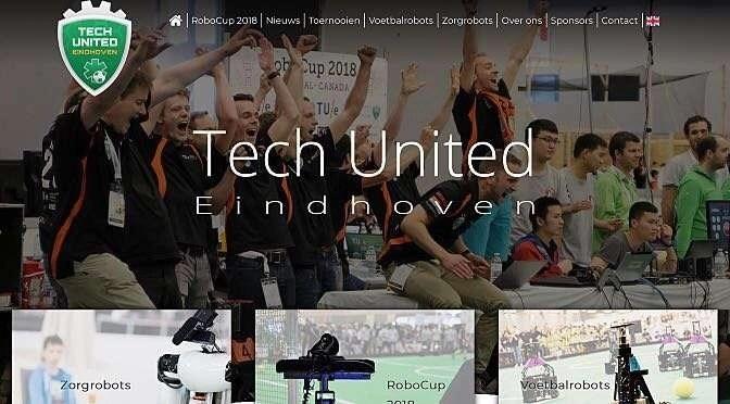 Tech United is - terecht - maar wat trots op de nieuwe WK titel